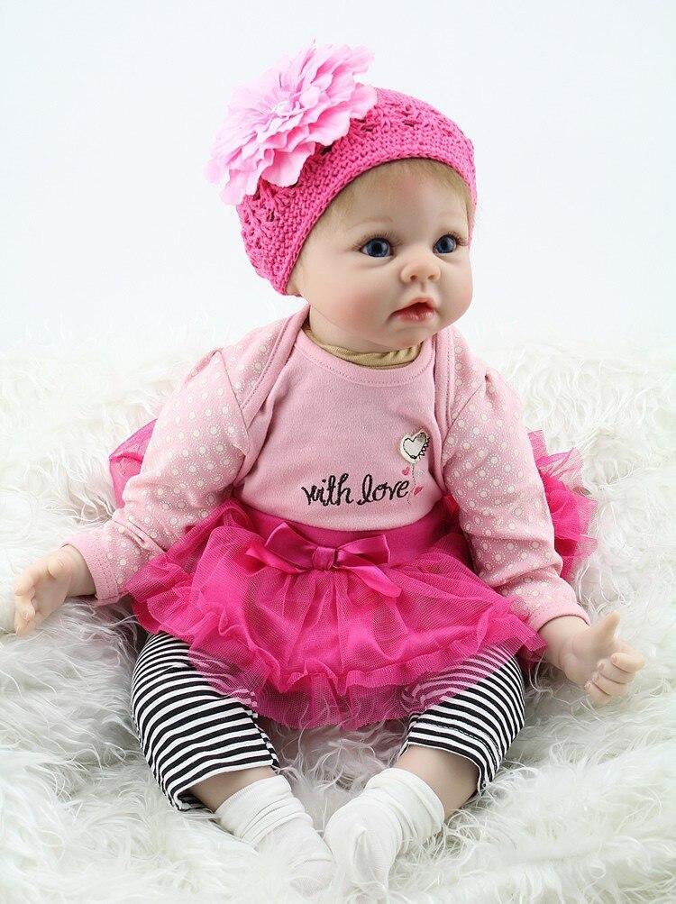 Reborn Baby Girl Doll Life Like Realistic free Shipping USA Rebornpuppen