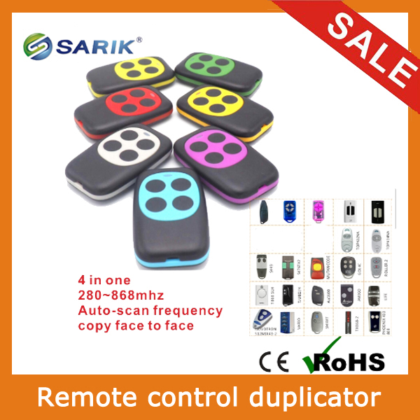 2pcs lots Multi Frequency 280 868mhz Remote Control Duplicator Rolling Code Face To Face