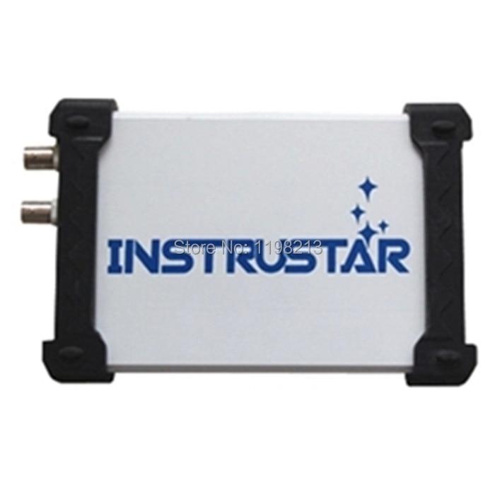 ISDS205A USB Oscilloscope 2CH 20MHz 48MSa/s FFT Analyzer Virtual Oscilloscope *Bandwidth 20M *48M sampling+Dual USB+Data Logger