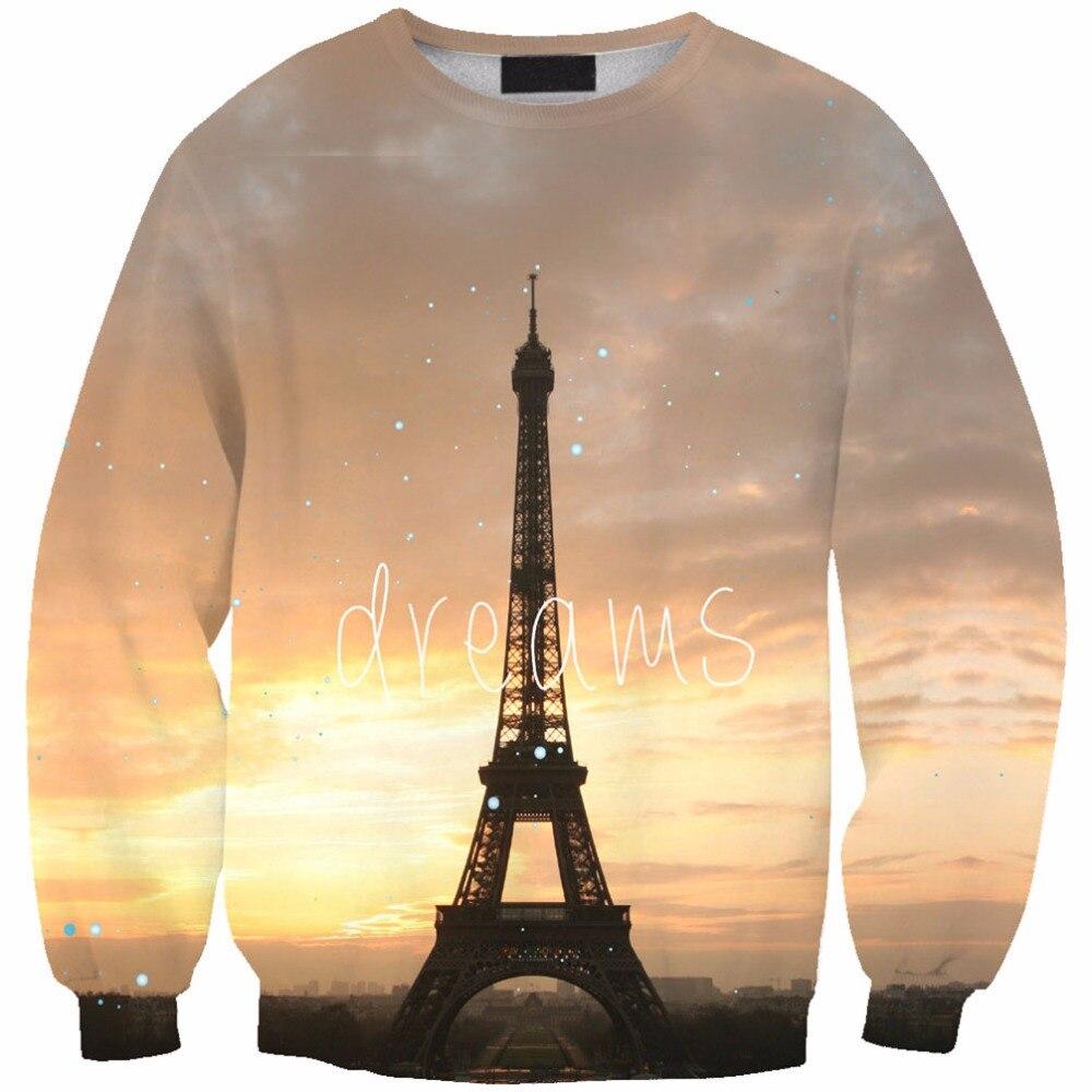 Brand autumn men women sweatshirt loose style print