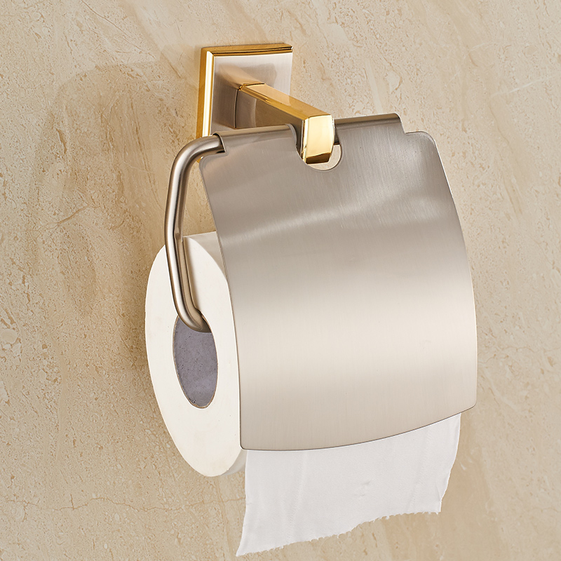 New Bathroom Toilet Paper Holder With Cover gold brush Brass Roll Tissue  Rack Carved Pattern Base Paper Shelf Wall MountedOnline Get Cheap Toilet Cover Gold  Aliexpress com   Alibaba Group. 24k Gold Toilet Paper. Home Design Ideas