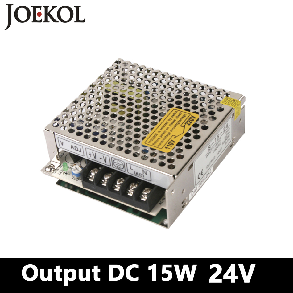 Mini Ac-dc Converter Switching Power Supply 15w 24v 0.7a Single Output For Led Driver,watt Power Supply 110v/220v To 24v Soft And Antislippery Power Supplies