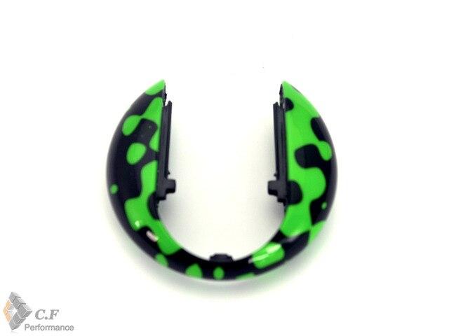 Зеленый и Черный Граффити Рисунок Ключа Автомобиля Седан Крышка Стайлинга Автомобилей Ключ Крышка для Мини F55 F56 244