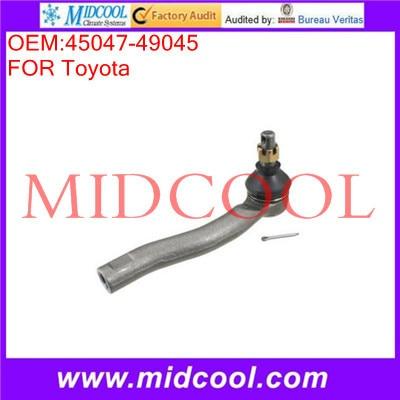 Высокое качество автозапчастей верхней правой или левой поперечная рулевая тяга класса OEM : 45047 - 49045