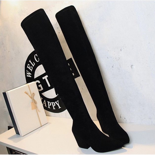 Fashion Women Boots autumn Winter Over