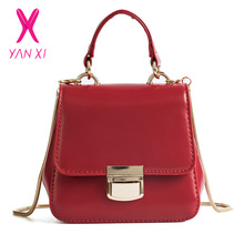 Yanxi 2018 Pu Leater Fashion Silicone Jelly Bag Mini Chain S Candy Color Messenger