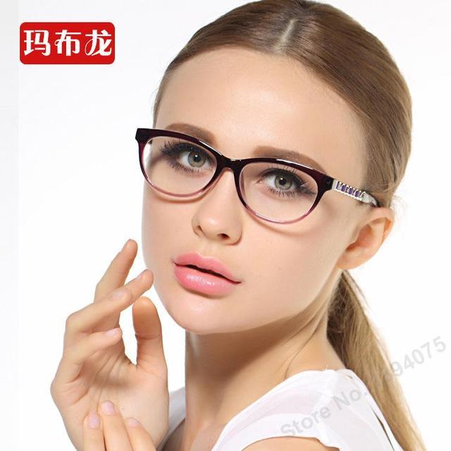Бесплатная prescrption заполнения близорукие очки близорукие оптика очки кадр миопия очки 5827