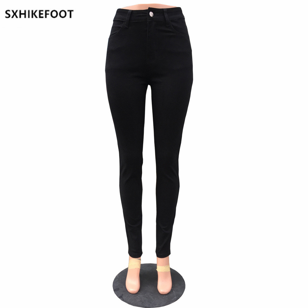 Leisure America white And Black Simple Mid Autumn New 2018 Woman None Flat Spring Pants Women Promotion Waist Europe Palazzo Trousers wqZfSF1n