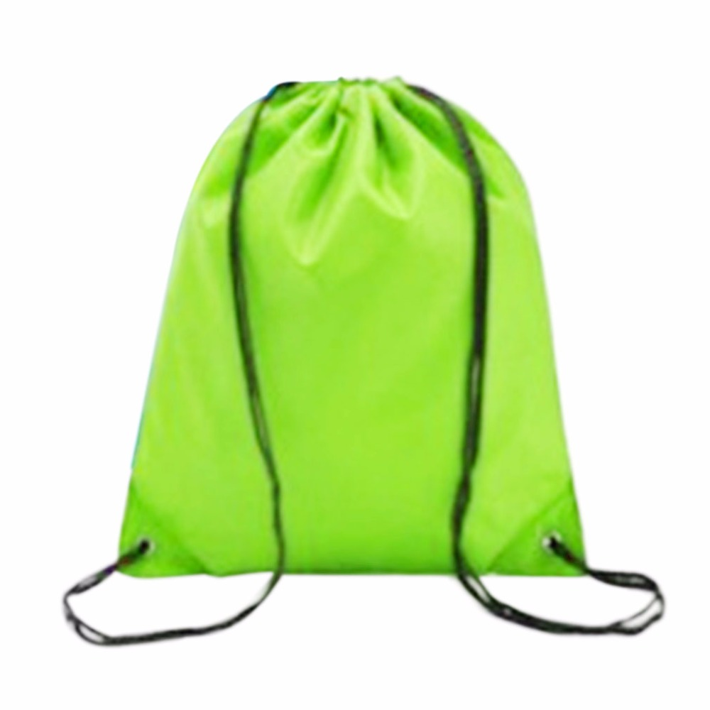 Drawstring Bag Sport Swim Gym PE School Dance Shoes Backpack Outdoor Hiking Bags