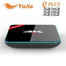 3 Г/32 Г S912 Q Plus Amlogic Android 6.0 TV BOX Окта Core Dual wi-fi Q-PLUS Смарт Set Top Box Q Plus Media Player BT4.0 4 К H.265