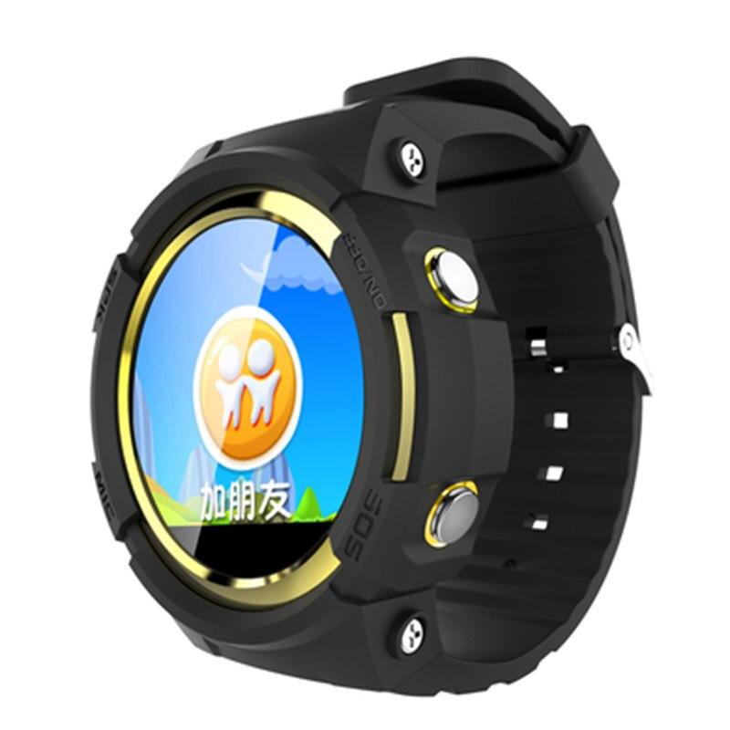 Traqueur intelligent de GPS d'enfant de montre avec l'écran rond Touchable traqueur de dispositif de localisation d'appel d'android SOS pour la montre sûre d'enfant pour l'enfant - 3