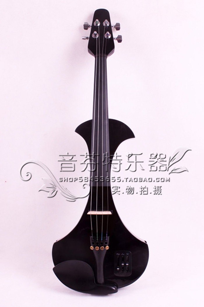 4/4 Electric Violin Solid wood Black White Big Jack Powerful Sound 5 String 3 4 upright double bass high quality powerful sound solid wood 5 string