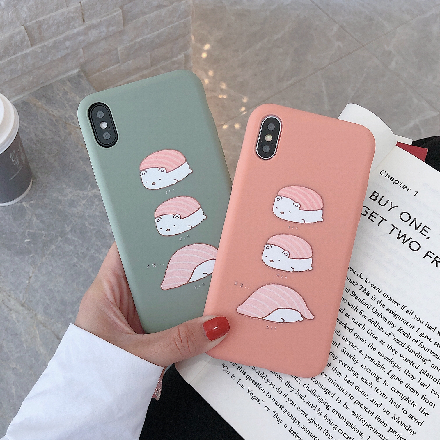 For iPhone 7 8 6s Plus Cover funny Cartoon Case For iPhone XR XS MAX silicon Soft TPU Case For iPhone 8 Cover coque