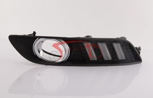 LED Daytime Running Light Fog Lamp cover Car Styling Accessories for Nissan Sylphy Sentra 2012-2014 DRL