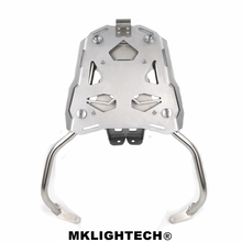 MKLIGHTECH For All VESPA Aluminum Motorcycle Accessories Rear Luggage Rack Cargo Bracket Detachable Support Holder