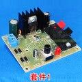 2016 Placa de Circuito Electrónico Kit Kit DIY Regulada de Voltaje Step-down fuente de Alimentación Ajustable LM317 Suite Módulo