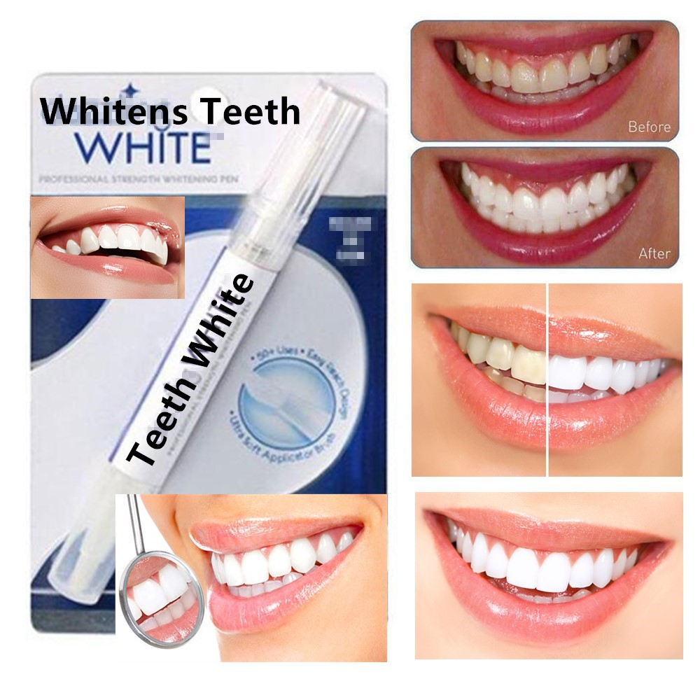 1pcs Dental Teeth Whitening Tooth Cleaning Rotary Peroxide Bleaching Kit Dental Dazzling White Teeth Whitening Pen Blanqueador(China)