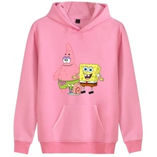 New Fashion Womens/Mens SpongeBob SquarePants Printing Hoodi