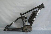 New 2017 MTB bike suspension frame mountain bicycle rear shock frame 27.5 ER Electric motor soft tail frame
