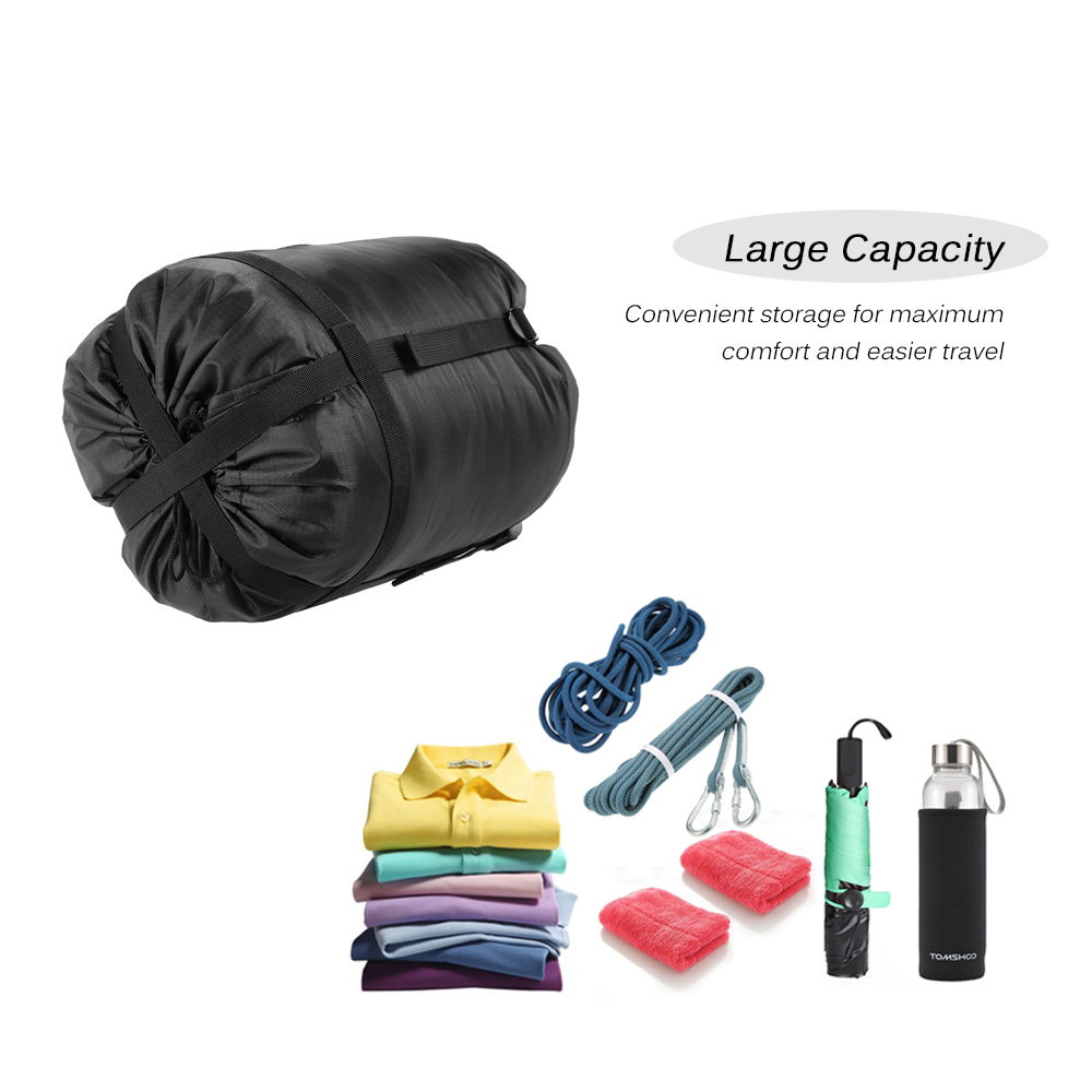 New Outdoor Lightweight Compression Stuff Sack Portable Ultralight Bag Camping Hiking For Sleeping Bags Lazy Bag Package in Sleeping Bags from Sports Entertainment