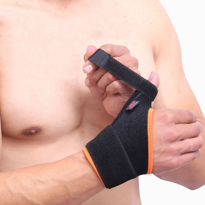 Wrist brace artritis dolor Loop pulgar dedo Muñequeras Correa estabilizador soporte de muelle, muñeca reversible, túnel carpiano