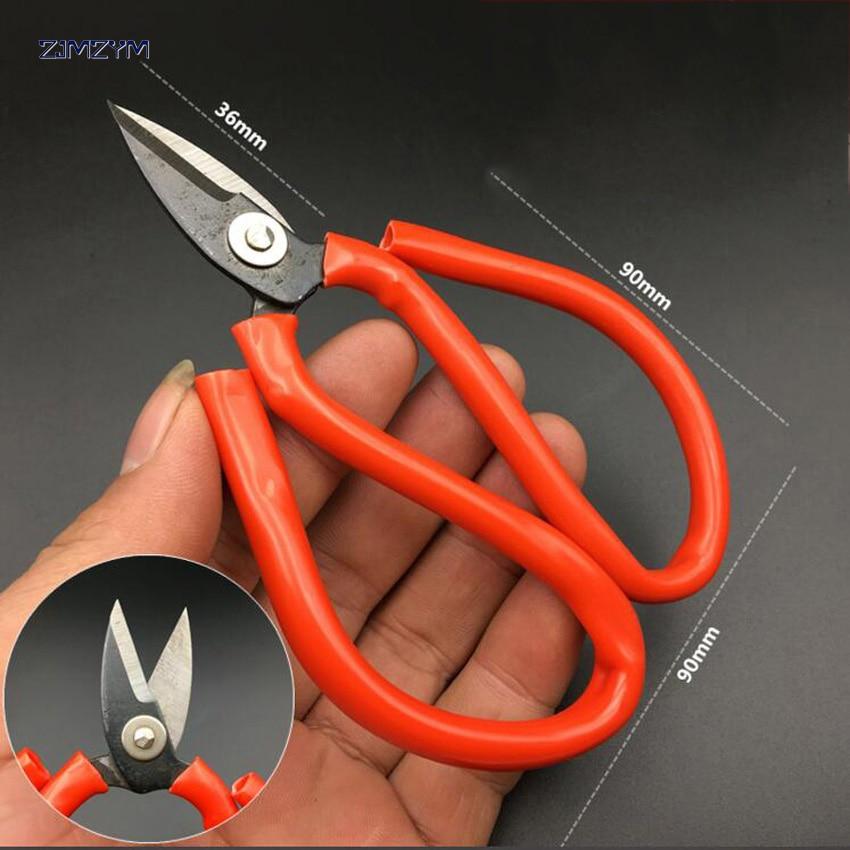Vysoce kvalitní průmyslové kožené nůžky a civilní nůžky na míru pro řezání usní na míru