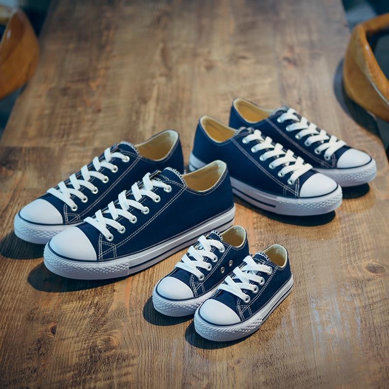 2018 Frühling Herbst Kind Leinwand Schuhe Neue Mode Jungen Und - Kinderschuhe