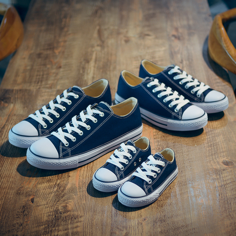 2018Spring Autumn Kid Canvas Shoes New Fashion Boys And Girls High Quality Casual Breathable Shoes Children Shoes