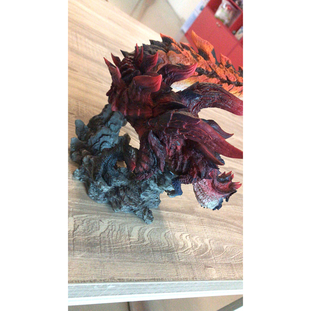 Monster Hunter World Handmade Original Genuine CFB Monster Hunter X Dragon Different Colors Collection Decoration Gifts 2