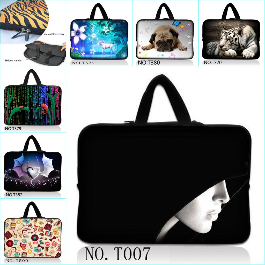 10 Laptop Tablet Notebook Sleeve Bag Case For ASUS Transformer Book T100/T100TA /Apple iPad Air 1 2 w/Cover