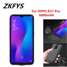 For OPPO R17 Pro Ultra Thin Fast Charger Battery Cover  Case 6800mAh