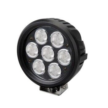 "1 piece  LED870 round DC10-30V 6"" 70w led working light for offroad auto spotl light flood light auto products Lantsun"