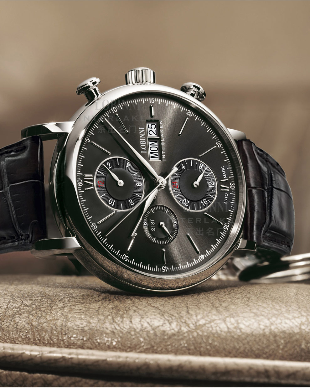 HTB1bhO9VbvpK1RjSZFqq6AXUVXa4 Switzerland LOBINNI Men Watches Luxury Brand Perpetual Calender Auto Mechanical Men's Clock Sapphire Leather relogio L13019-6