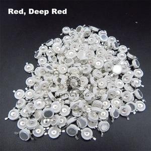 Image 4 - 500 pces de alta potência 1 w 3 w led chips lâmpada smd branco quente fresco vermelho azul amarelo verde led spotlight epistar cob chip de diodo