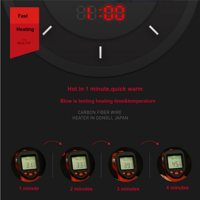 USB Infrared Heating Vest 6