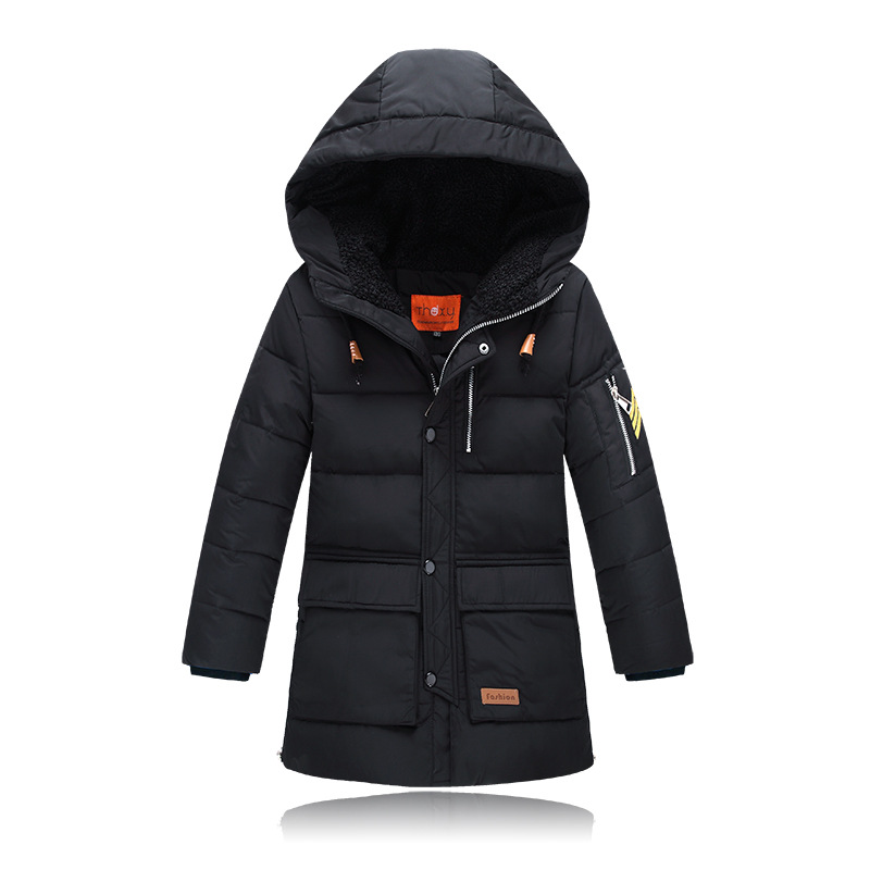 2017 New 6-14 Year Winter Boy's Winter Warm Down Jackets For Boys Thick Duck Down Coats Kids Jacket Children Outerwears casual 2016 winter jacket for boys warm jackets coats outerwears thick hooded down cotton jackets for children boy winter parkas