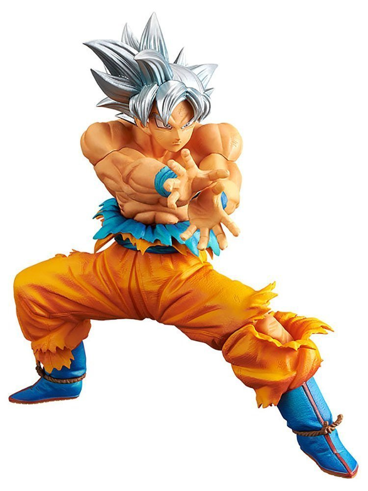 Anime Dragon Ball Z Super Ultra Instinct Goku The Super WARRIORS SPECIAL Figure Model Collection Toys 16cm
