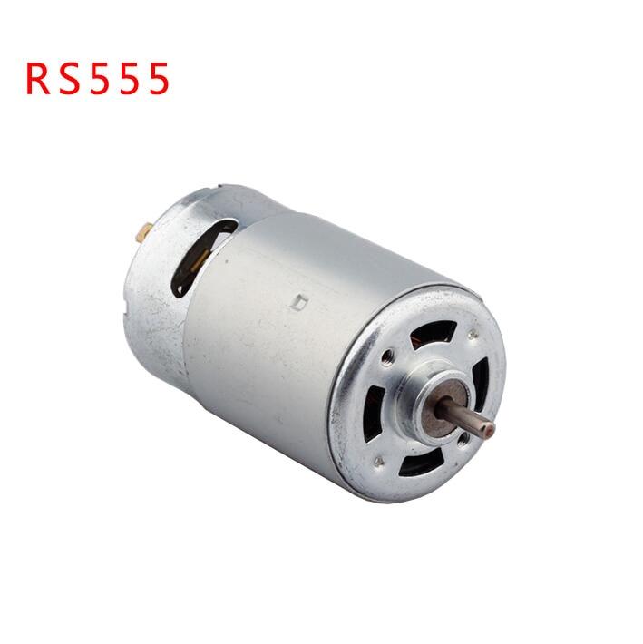 1 unids envío rs555 DC hobby Motores generador de turbina 12 V 5500 RPM alto par
