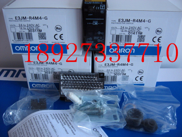 [ZOB] New original OMRON Omron photoelectric switch E3JM-R4M4-G цена