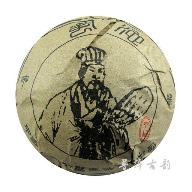 Известный сырой старый чай пуэр 100 г 2005yr Changtai Tuo чай бамбука сухого хранения юньнань сырой старый чаша сжатый пуэр чай