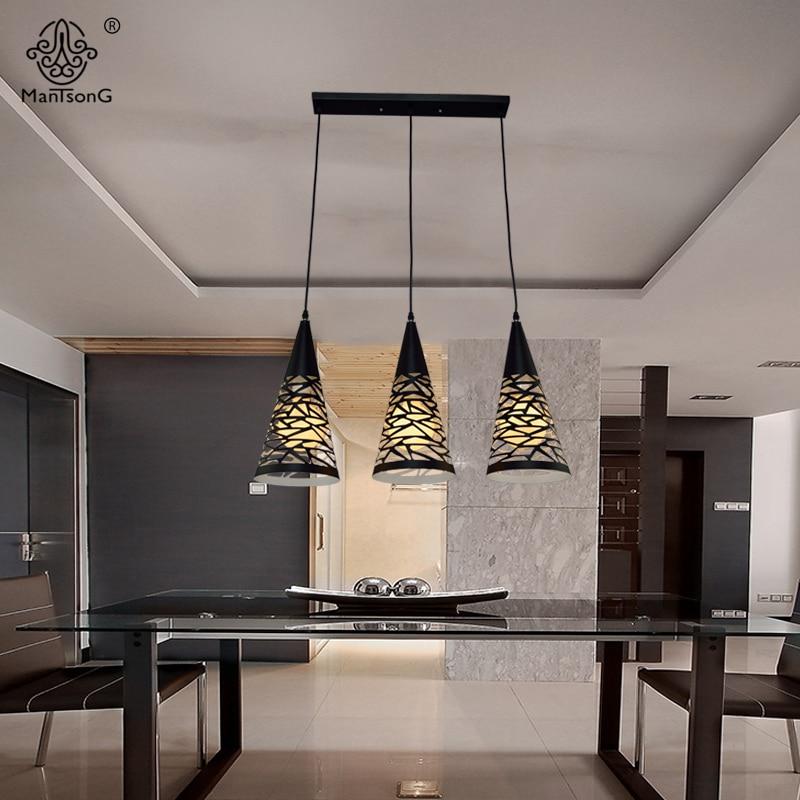 Zwarte Moderne Keuken Hanglampen Eetkamer Woonkamer Hanglamp Home ...
