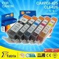 5PK PGI-425 CLI-426 чернильный картридж совместим для Canon PIXMA IP4840/5140/5240/5340/MX714 принтер с A + класс качества