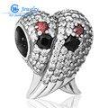 Rainbow cubic zirconia cristal charme new western moda jóias 925 sterling silver star charme gw fine jewelry x240h20