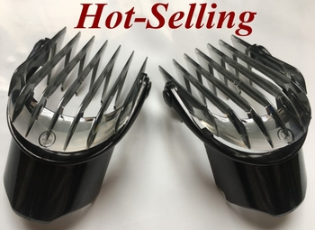 1 Uds pequeño 3-21MM 1/8-5/8 pulgadas hoja de afeitar peine de Maquinilla de cortar el pelo para philips eléctrico trimmer QC5010 QC5050 QC5053 QC5070 QC5090
