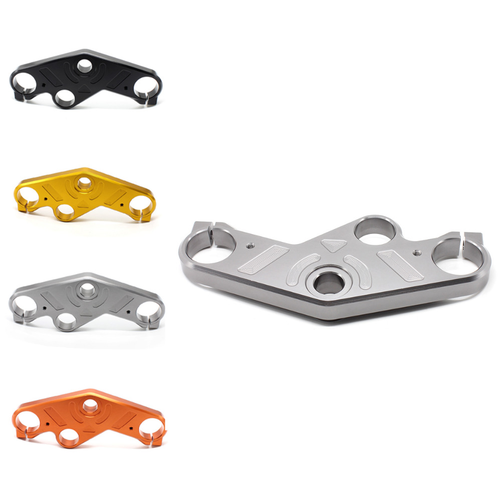 FX CNC Aluminum Motorcycle Lowering Triple Tree Front End Upper Top Clamp 5 Colors For Yamaha YZF R25 R3 2014-2016 2015 motorcycle cnc front