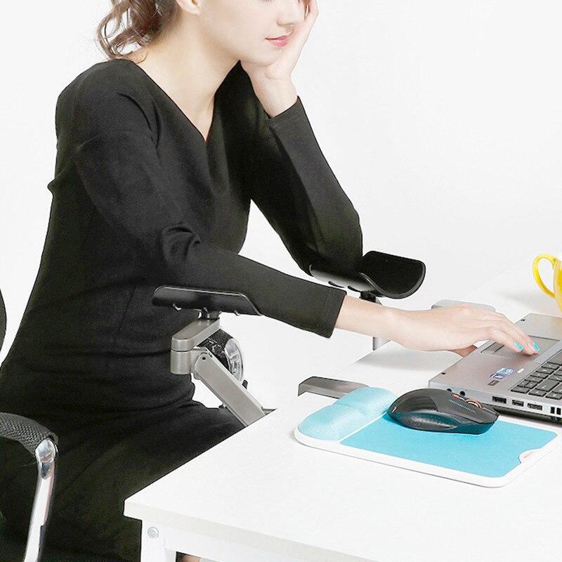 Ordinateur ergonomique satisfait métal bras Support réglable main glisser poignet Support ordinateur souris pad main ordinateur Support console - 2