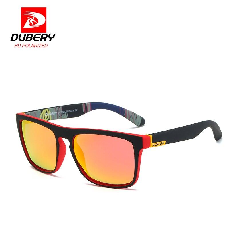 DUBERY Mirror Polarized Sunglasses s