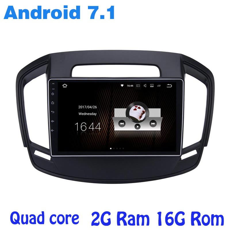 Android 7 1 Quad core font b Car b font radio GPS stereo player for Opel