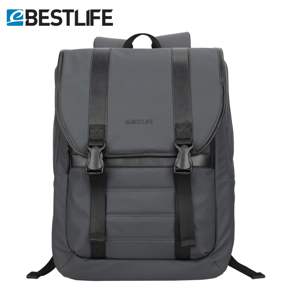 BESTLIFE Anti Theft Backpack For Men PU Leather Laptop Travel Daypacks Male College School Bag Teenager Bobby Urban Rucksacks chic canvas leather british europe student shopping retro school book college laptop everyday travel daily middle size backpack