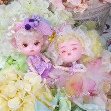 Sen bajki 1/12 BJD lalki 26 wspólne ciało ob11 mała lalka z ubrania buty 14cm śliczne prezent dla dzieci zabawki, nazwa przez DODO